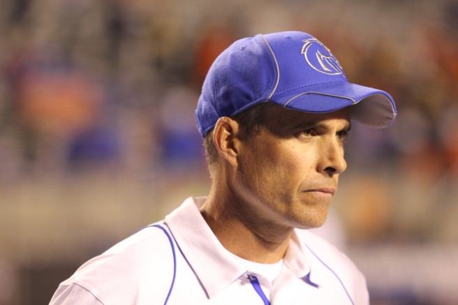 The notion that there's even one Boise State fan who is vigorously rooting against Chris Petersen this season is not a matter of great consequence... but it's plenty nauseating just the same.
