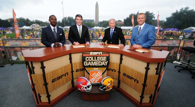 cfb lines where is college gameday