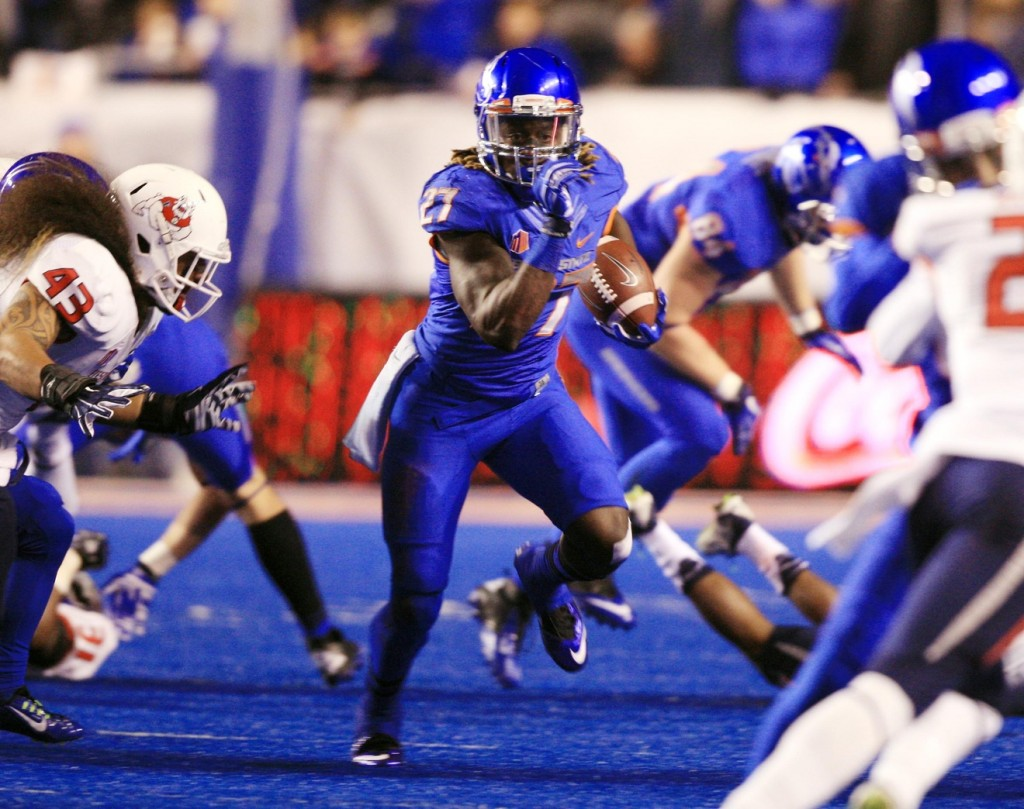 Boise State and star running back Jay Ajayi have more than a little to prove in the Fiesta Bowl against Arizona. The Broncos have a history of doing well in the Fiesta Bowl, but they had better teams in 2007 and 2010. If they won this time, it might rate as a bigger upset than the 2007 Fiesta Bowl win over Oklahoma, though that game will always remain one of the more influential contests (and outcomes) in modern college football history.