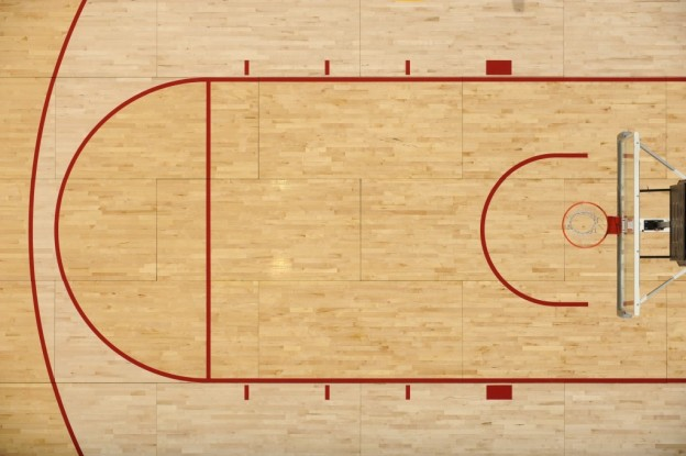 The top 8 court designs in college basketball the for How much does a half court basketball court cost