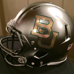 Baylor gray football helmet