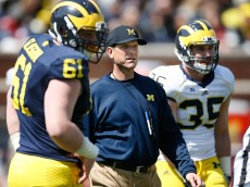 ANN ARBOR, MI - APRIL 04:  during the Michigan Football Spring Game on April 4, 2015 at Michigan Stadium in Ann Arbor, Michigan.  (Photo by Gregory Shamus/Getty Images) *** Local Caption ***