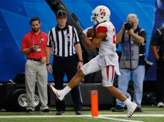 ATLANTA, GA - DECEMBER 31:  Chance Allen #21 of the Houston Cougars scores a touchdown in the fourth quarter against the Florida State Seminoles during the Chick-fil-A Peach Bowl at the Georgia Dome on December 31, 2015 in Atlanta, Georgia.  (Photo by Kevin C. Cox/Getty Images)