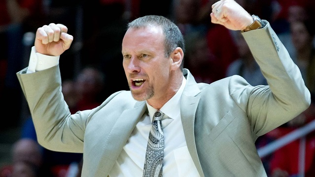 Larry Krystkowiak, Utah head coach