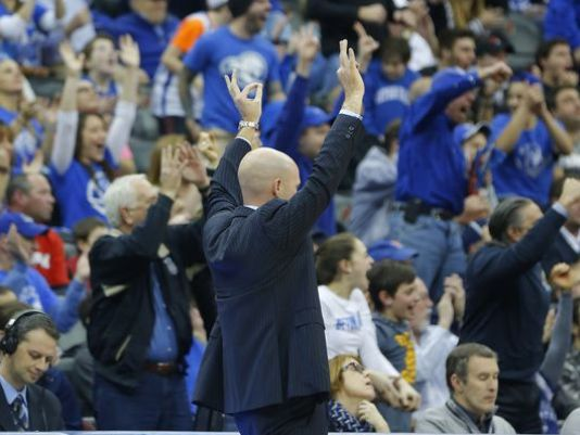 Kevin Willard feels thousands of pounds lighter after Seton Hall decked Xavier on Sunday. The victory will send Willard to the NCAA tournament in his sixth season at the helm in South Orange, N.J.