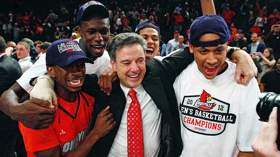 Rick Pitino coached the 2013 Louisville Cardinals to the national title when everything went right, but in 2012, he led the Cards to the Big East Tournament title and a subsequent Final Four appearance after a noticeably rocky regular season. It's not the only time Pitino has managed to reach a team in time to save its season.