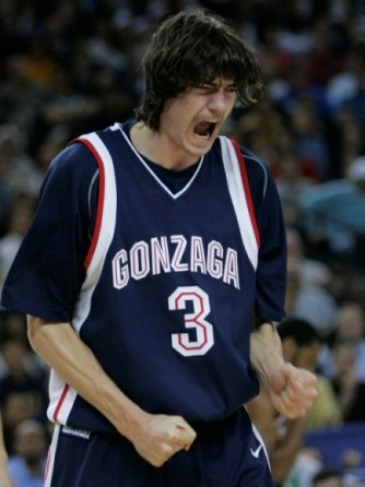 Adam Morrison, the man who changed expectations and thresholds at Gonzaga, despite failing to make a Final Four or even an Elite Eight.
