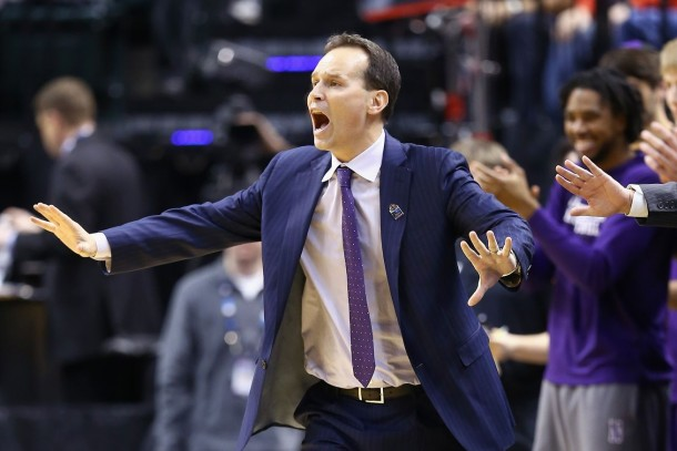 Chris Collins, Northwestern basketball head coach.
