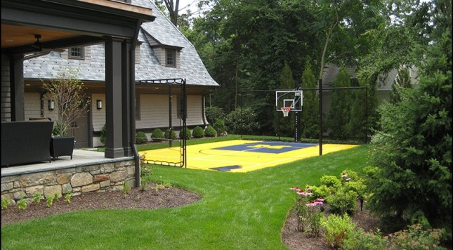 Wonderful-Basketball-Court-Designs-for-Modern-Backyard-also-beautiful-home-garden-design