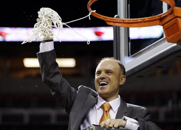 Oregon State head coach Scott Rueck.
