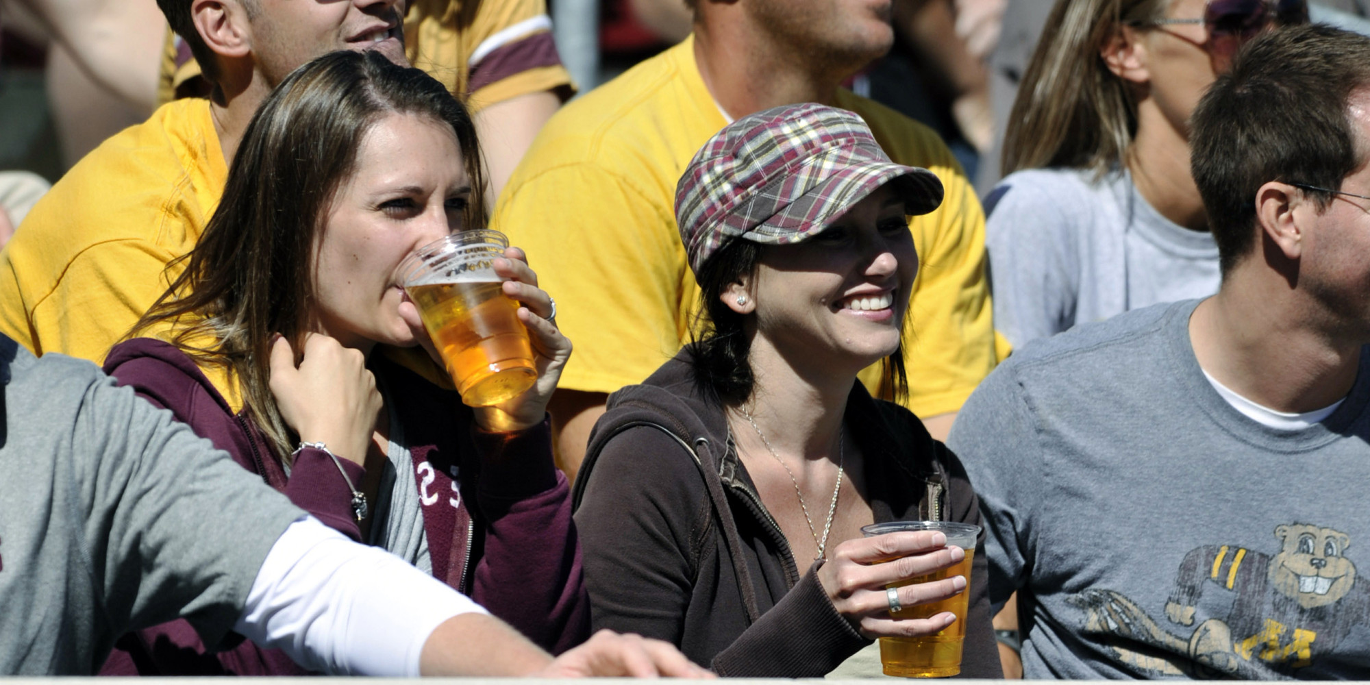 Beer may attract fans to college football games but teams ...