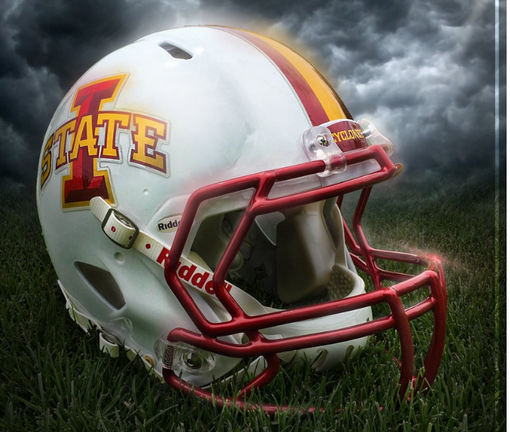 Look: Iowa State adds alternate white helmets for 2016 ...