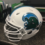 Tulane throwback helmet 2016