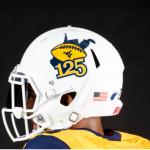 WVU helmet 125