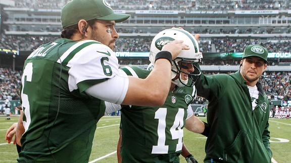 Greg McElroy Jets