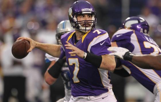 Christian Ponder Out