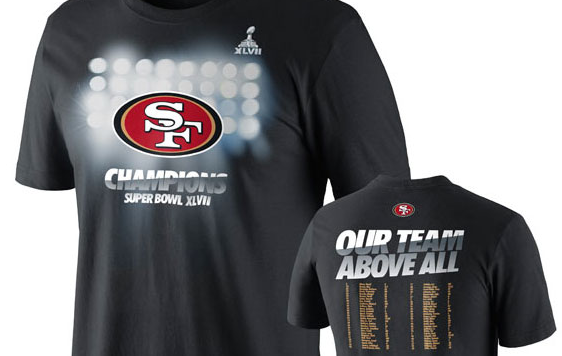 49ers Super Bowl Shirt