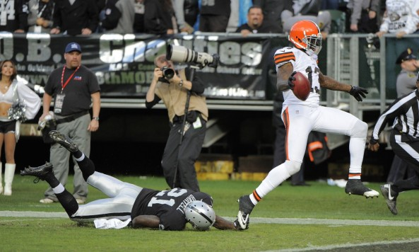Josh Gordon Touchdown