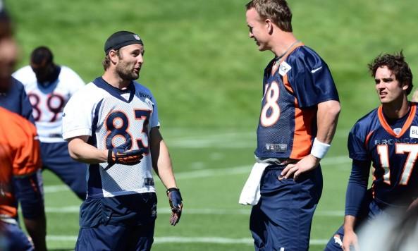 Wes Welker Peyton Manning(1)