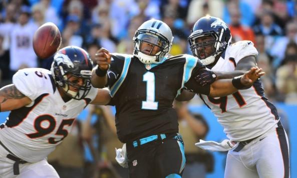 Cam Newton Hit