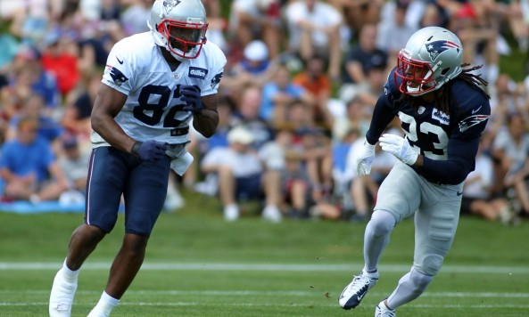 Patriots Receiver Training Camp