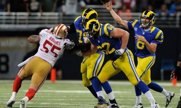 Rams Throwback Uniforms