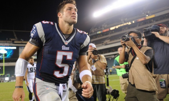 Tim Tebow Patriots