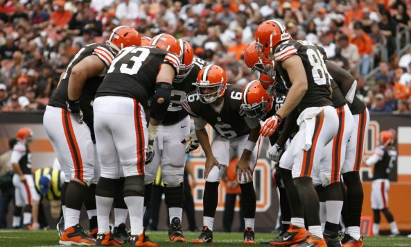 Browns Huddle