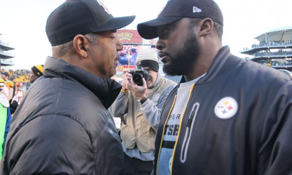 Marvin Lewis Mike Tomlin