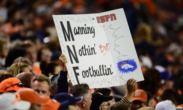 Peyton Manning Sign