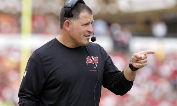 Greg Schiano Pointing