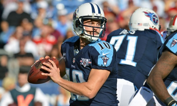 Jake Locker in the Pocket