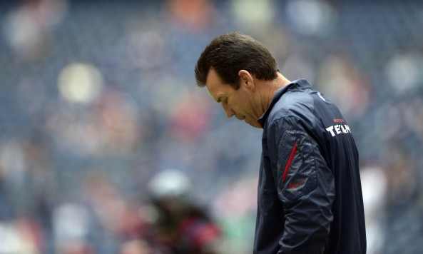 Gary Kubiak Head Down