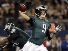 Nick Foles Throwing In Win Over Cowboys