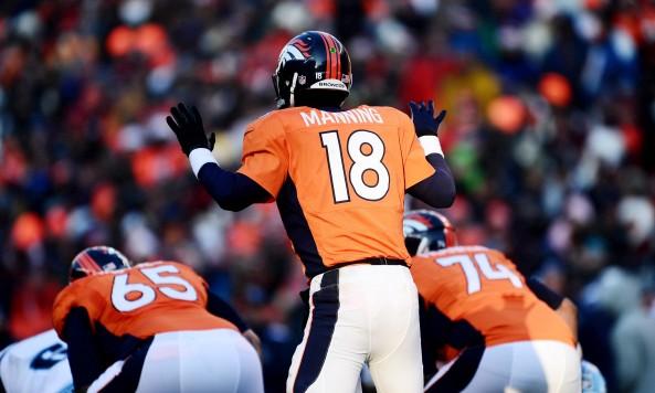 Peyton Manning Audible at the Line