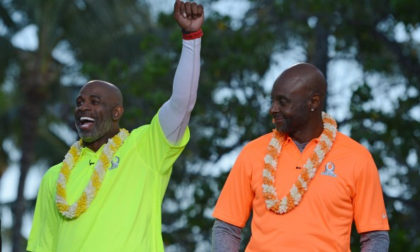 Deion Sanders Jerry Rice Pro Bowl