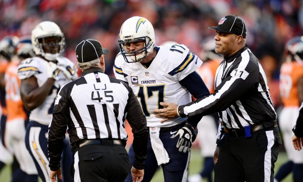 Philip Rivers Yelling at Officials Playoffs