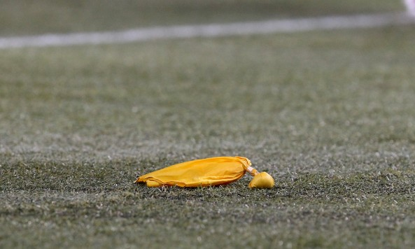 Penalty Flag on the Field