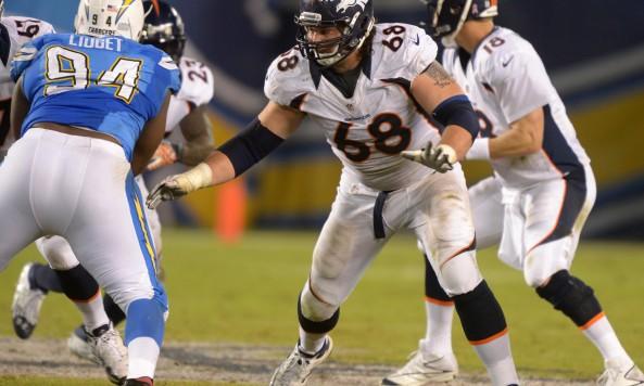 Zane Beadles Broncos