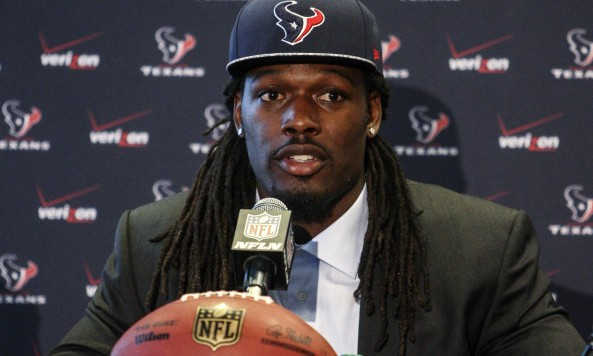 NFL: Houston Texans-Jadeveon Clowney Press Conference