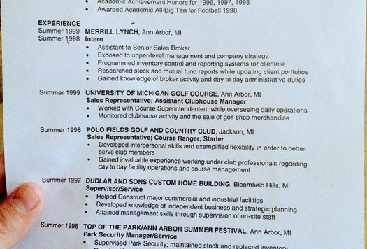 Take a gander at Tom Brady\'s pre-NFL résumé | This Given Sunday