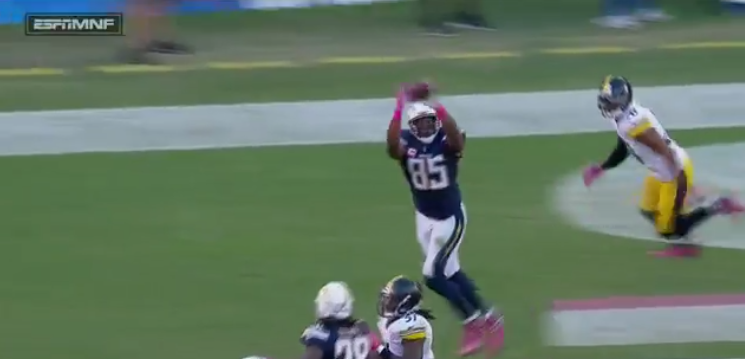 Watch Antonio Gates Catches 100th Td Pass This Given Sunday