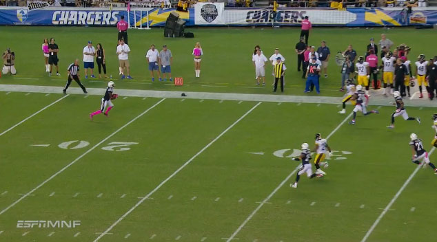 A Gif Breakdown The San Diego Chargers Don T Know How To