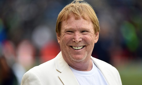 SEATTLE, WA - NOVEMBER 02: Principal owner and managing general partner of the Oakland Raiders Mark Davis watches his team warm up before the game against the Seattle Seahawks at CenturyLink Field on November 2, 2014 in Seattle, Washington.  (Photo by Steve Dykes/Getty Images)
