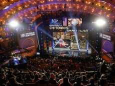 CHICAGO, IL - APRIL 30:  A general view prior to the start of the first round of the 2015 NFL Draft at the Auditorium Theatre of Roosevelt University on April 30, 2015 in Chicago, Illinois.  (Photo by Kena Krutsinger/Getty Images)