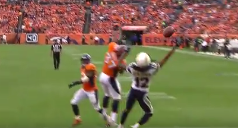 Watch Travis Benjamin Makes Fantastic One Handed Catch