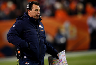 DENVER, CO - NOVEMBER 27: Denver Broncos head coach Gary Kubiak watches the action against the Kansas City Chiefs during the fourth quarter on Sunday, November 27, 2016. The Denver Broncos hosted the Kansas City Chiefs. (Photo by Joe Amon/The Denver Post via Getty Images)