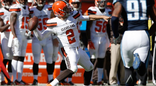 Chad Johnson invites Johnny Manziel to give him a call