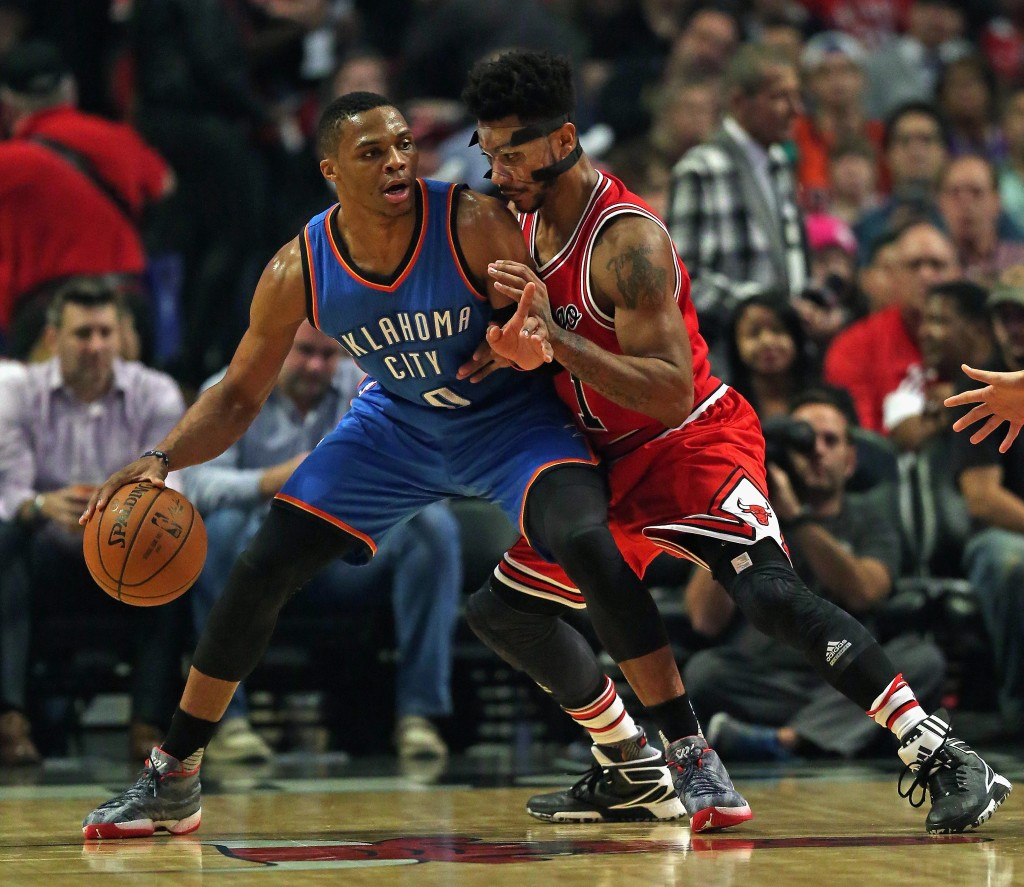Oklahoma City Thunder v Chicago Bulls