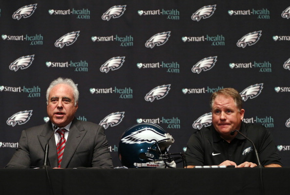Jeffrey Lurie and Chip Kelly